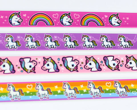 Magical Unicorn Slap Bracelets - Set of 2!
