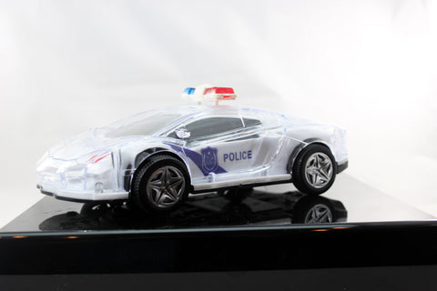 Light Up Police Car With Sound