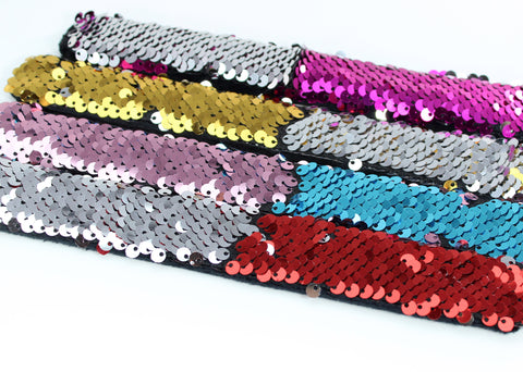 Mermaid Sequin Slap Bracelets | Assorted Colors