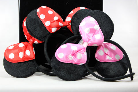 LED FLASHING Minnie Ears