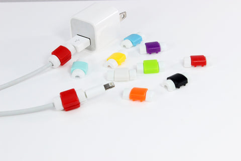 Colorful Charger Cable Protectors - 7 Colors!