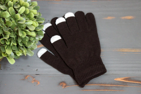 Kids Warm Touch Screen Gloves Many Colors