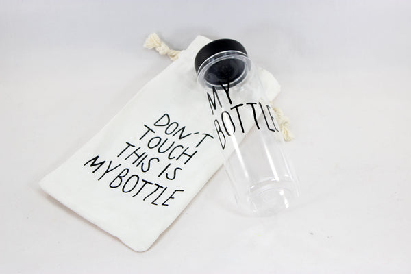 Fitness My Bottle Drink-Ware with Tote