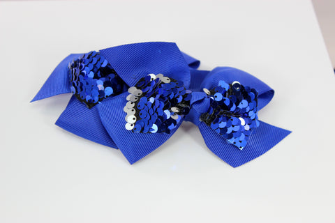 Mermaid Sequin Bow - 6 Colors!
