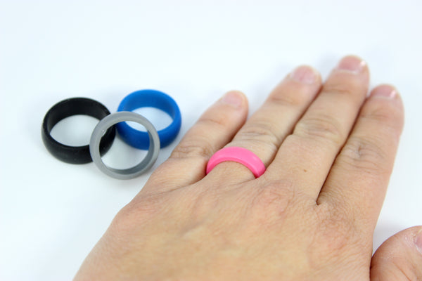 Unisex Silicone Ring - 4 Colors!