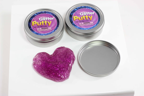Glitter Putty In Tin