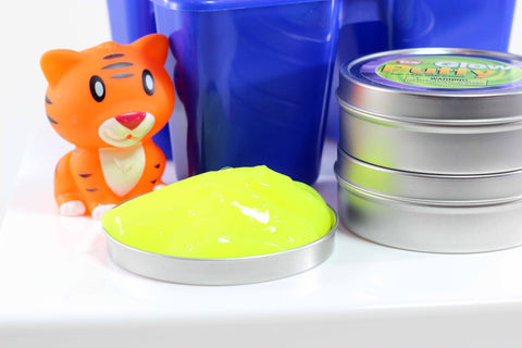 Glow In The Dark Putty In Tin