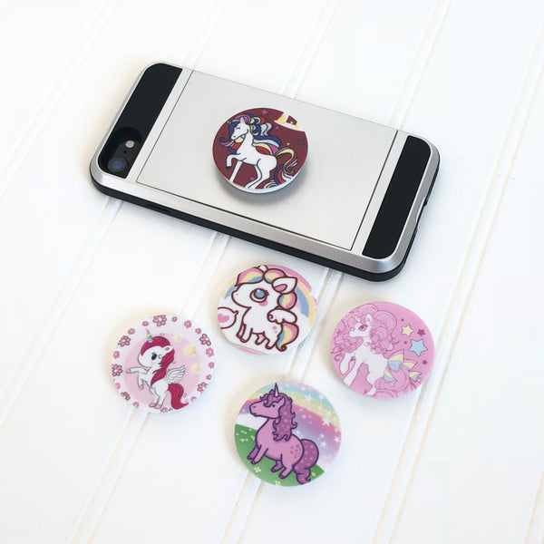 Unicorn Stylish Collapsible Phone Grip