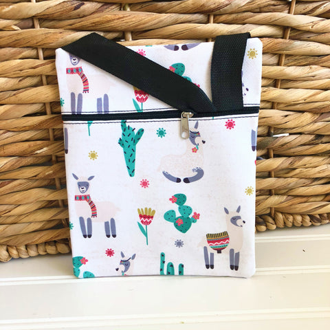 Llama Travel Messenger Bag