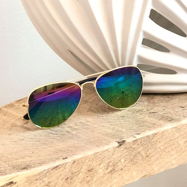 On Trend Aviator Sunglasses
