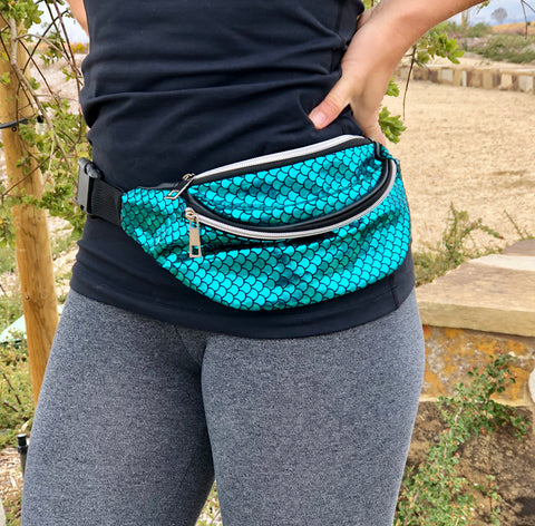 Metallic or Mermaid Fanny Pack