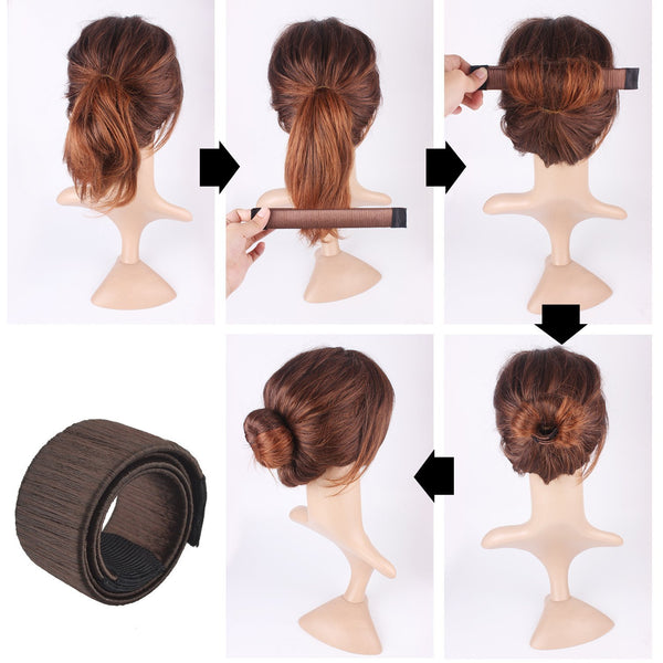 New Style French Bun Maker-2 Girls 1 Shop