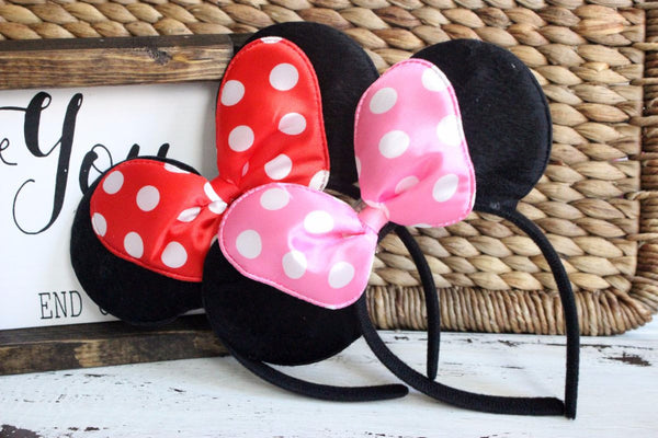 LED FLASHING Minnie Ears-2 Girls 1 Shop