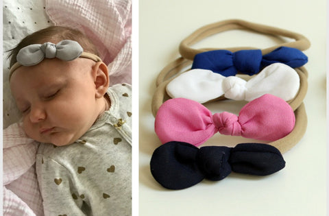 Infant Soft Bow Headband
