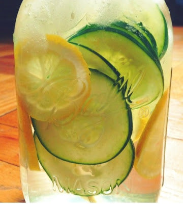 LEMON - CUCUMBER - GRAPEFRUIT WHITE BALSAMIC SHRUB