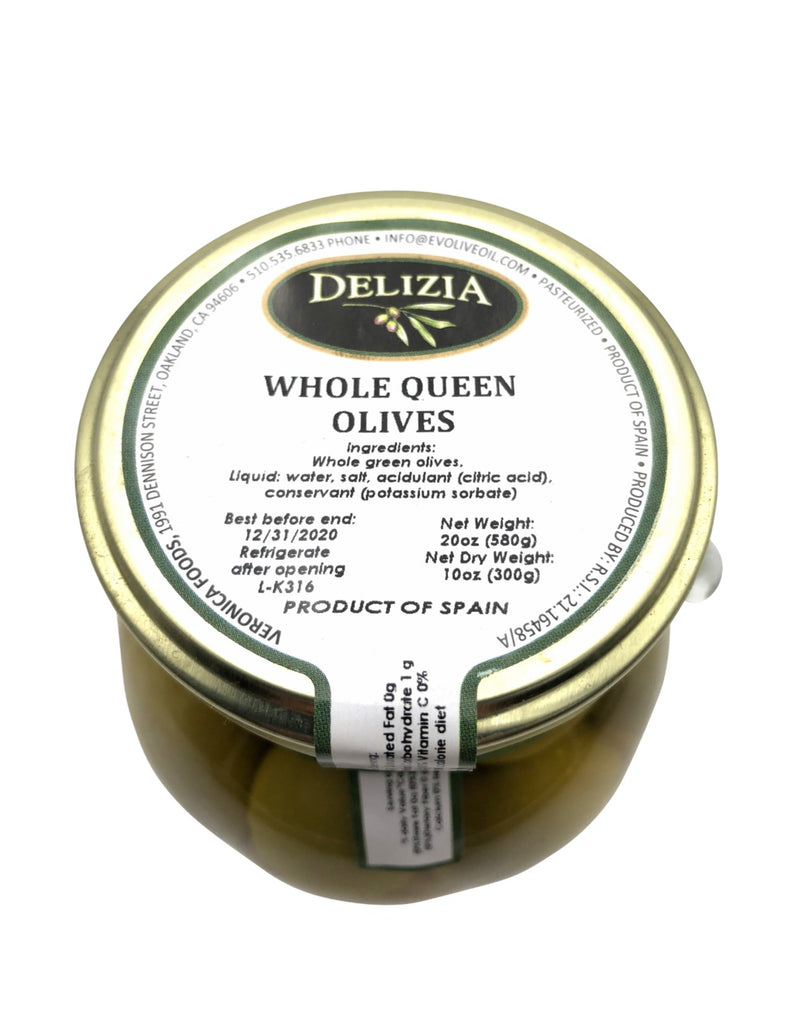 Delizia Whole Gordal Olives