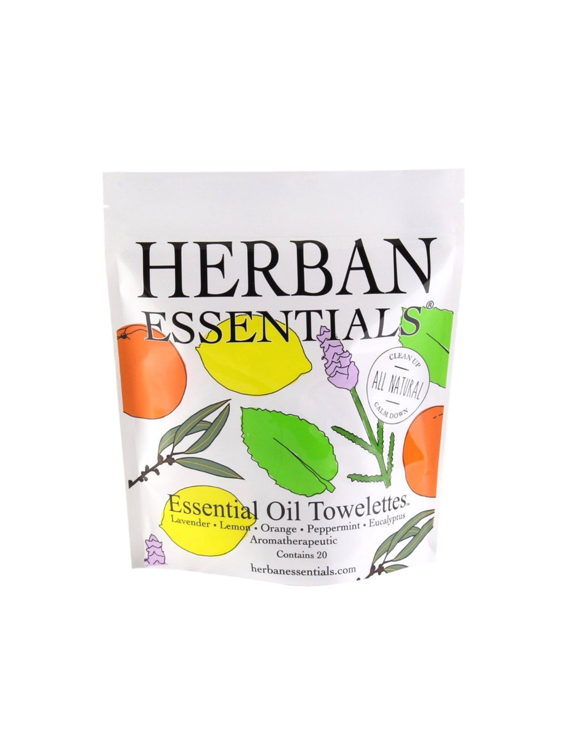 Herban Essentials - Assorted Essential Oil Towelettes