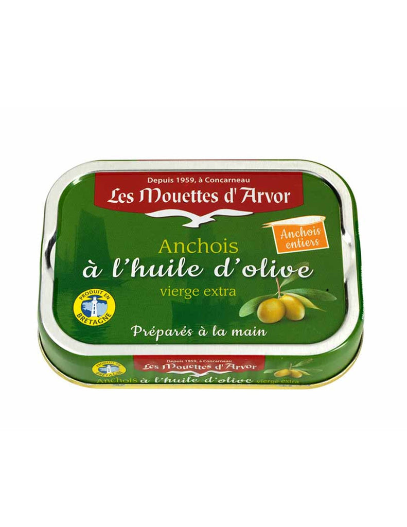 Mouettes D'Arvor - Anchovies in Extra Virgin Olive Oil