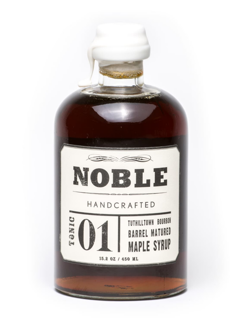 Noble Handcrafted - Noble Tonic 01 - Tuthilltown Bourbon Barrel Matured Maple Syrup