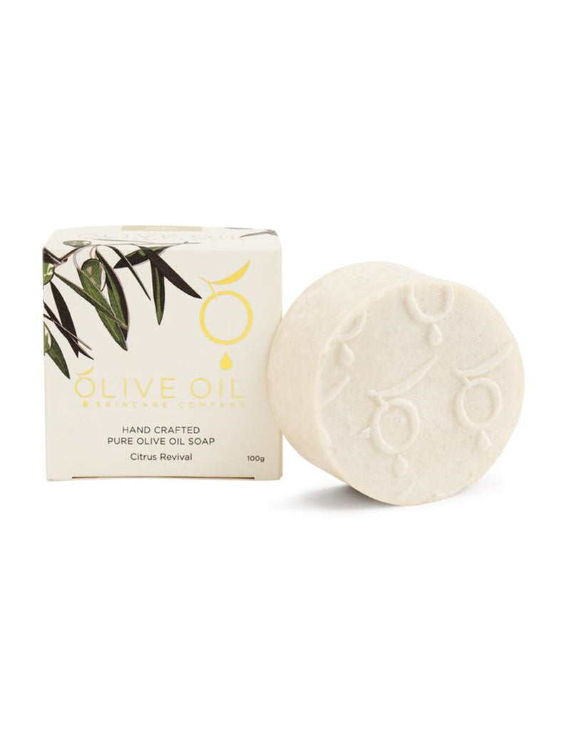 Olive Oil Skincare Company - Citrus Bloom Handcrafted Olive Oil Soap
