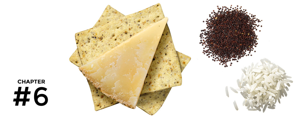 Paul and Pippa Artisan Crackers - Jamaican Peppercorn and Mustard & Rice