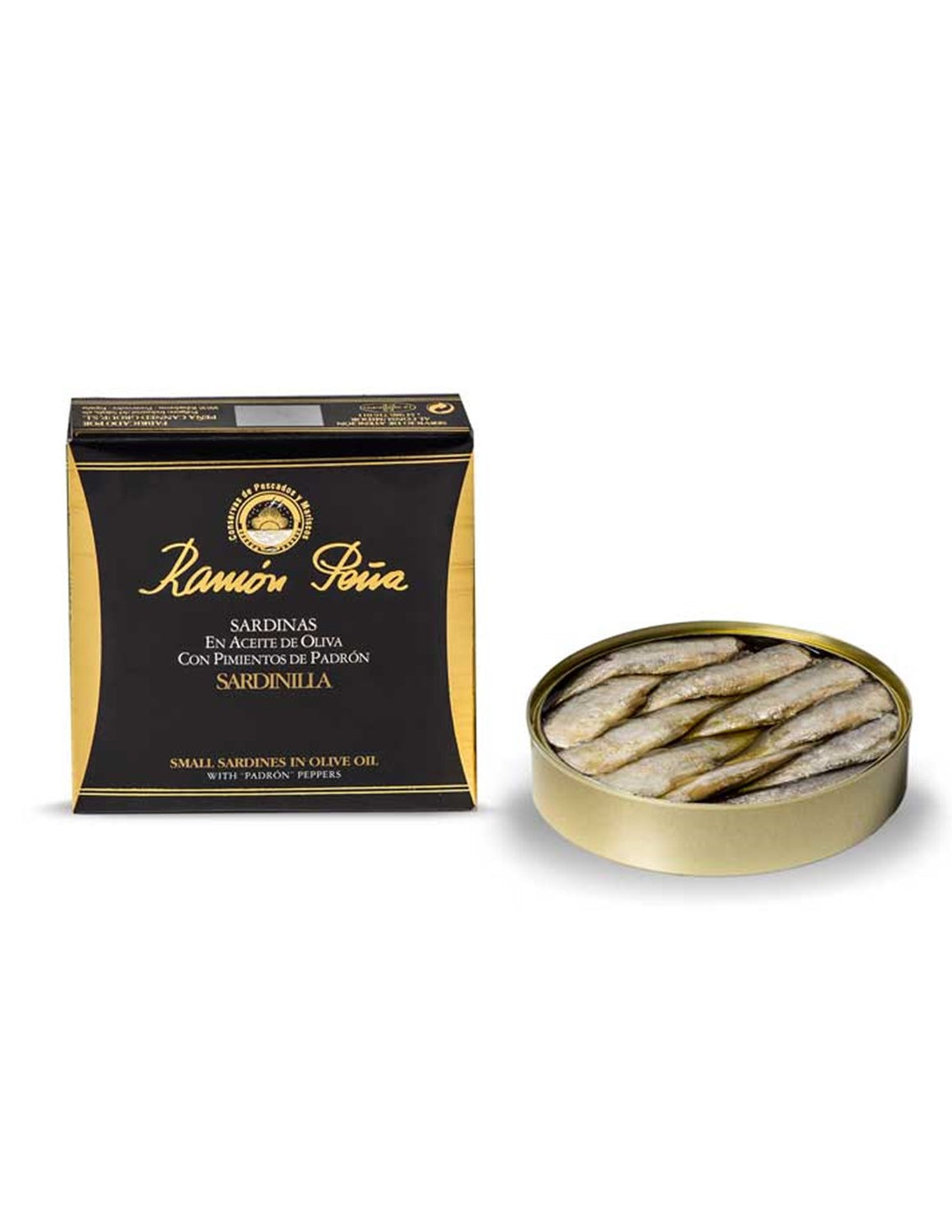 Ramon Pena - Small Sardines in Olive Oil with Padron Peppers