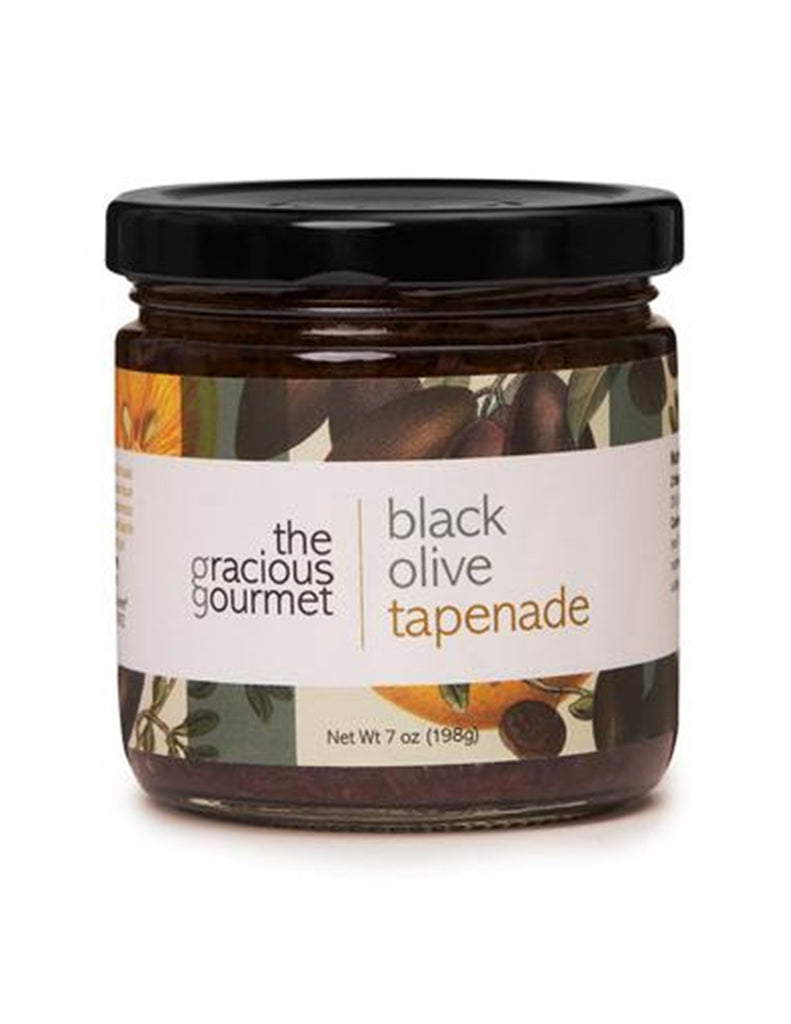 The Gracious Gourmet - Black Olive Tapenade