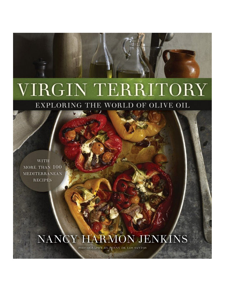 Nancy Harmon Jankins - Virgin Territory Olive Oil Book