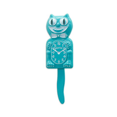 Kit-Cat Clock 3D Pin (Powder Blue)
