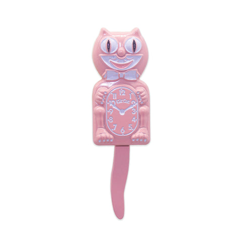 Kit-Cat Clock 3D Pin (Pink)