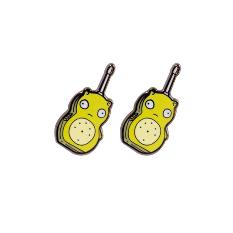 Kuchi Kopi Walkies Pin Set (shipping mid may)