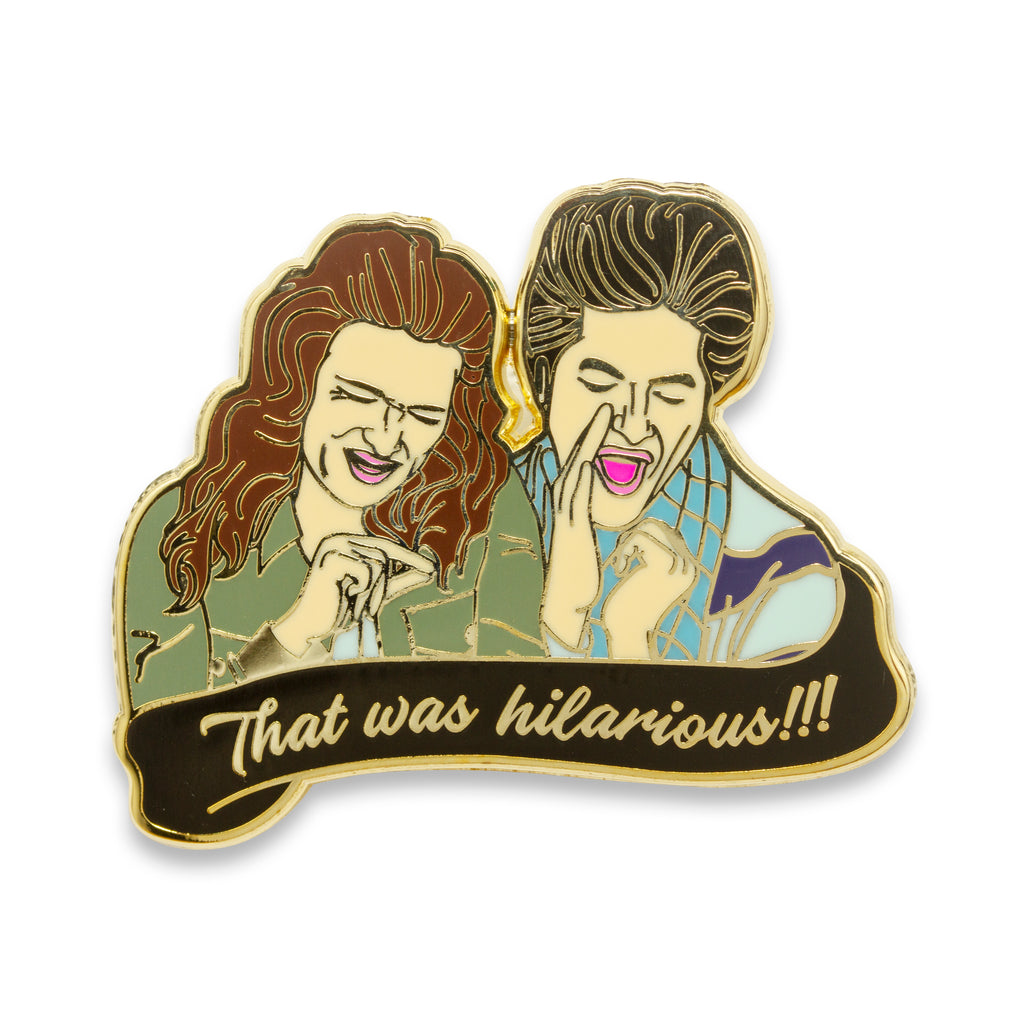 Saperstein Twins Pin