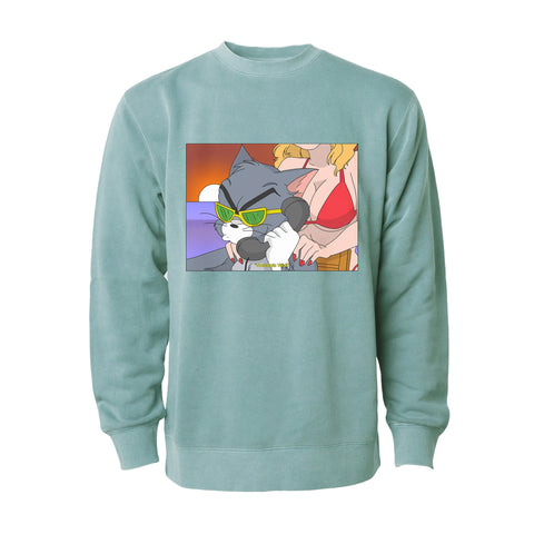 Tom Cat crew neck