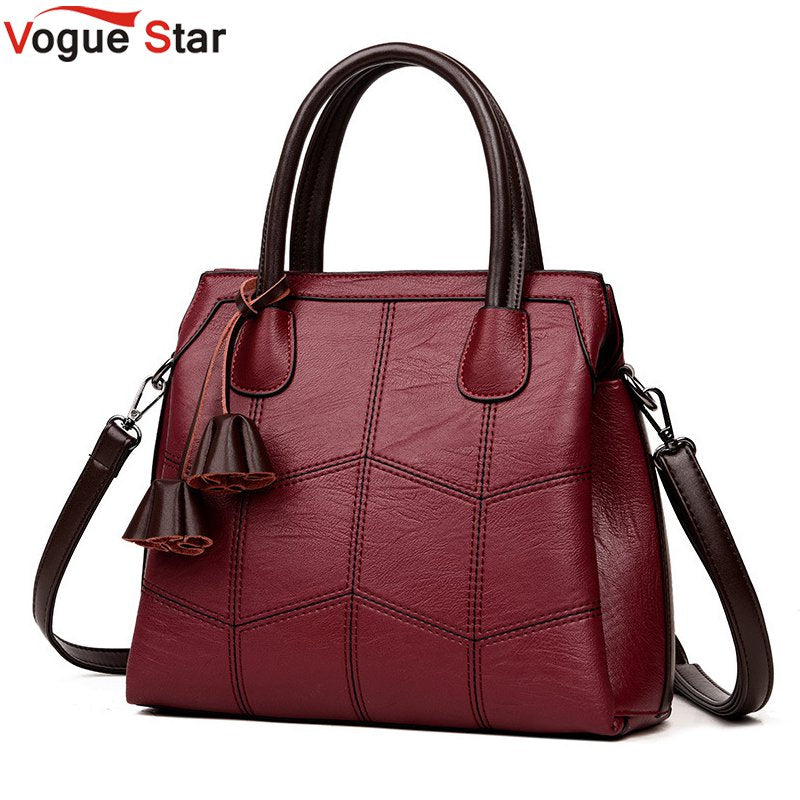 Brand Women Bags Genuine Leather Bags 2018 fashion Women Handbags High Quality Sheepskin Shoulder Bags Ladies Sac A Main LB906