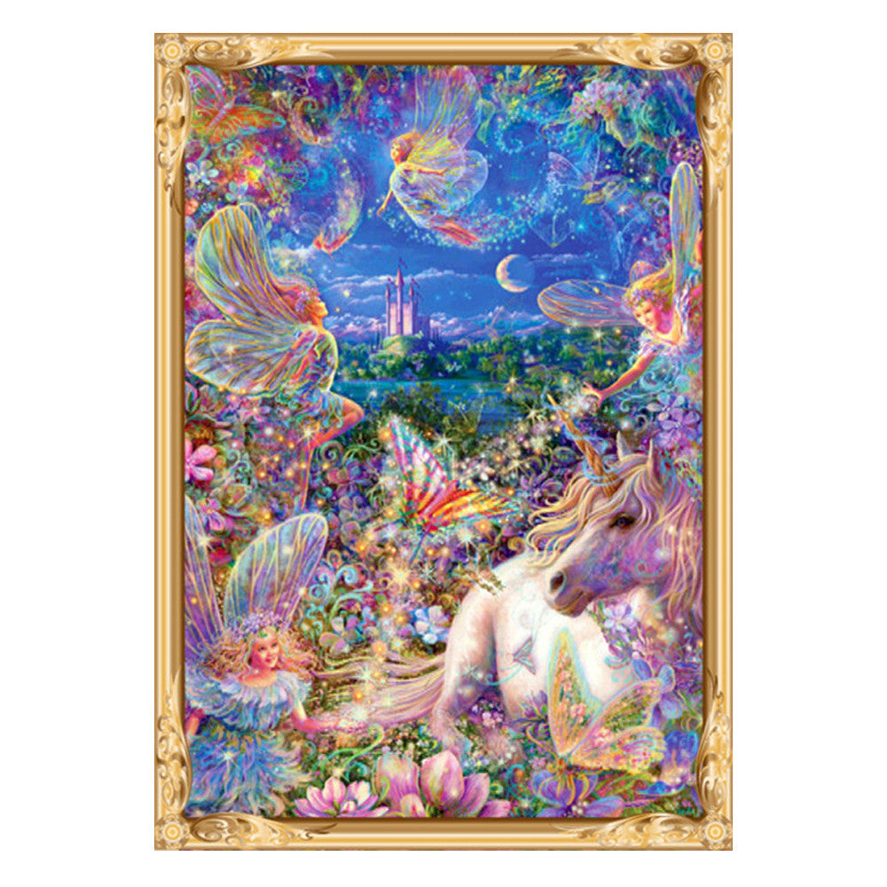 DIY 5D Horse Diamond Painting Handmade Cute Cartoon Cross Stitch Drill Painting Home Decor
