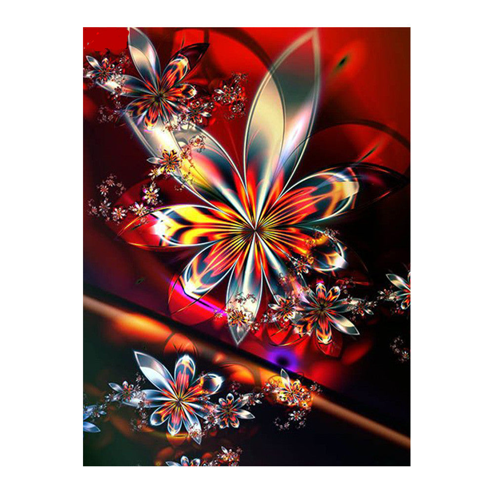 DIY 5D Color Flower Diamond Painting Handmade Cross Stitch Full Drill Painting Home Decor for Adults Craft Lover