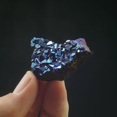 Cobalt Aura Amethyst - Enchanted Crystal