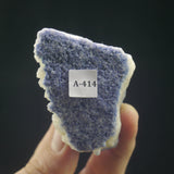 Dumortierite on Quartz (a-414)