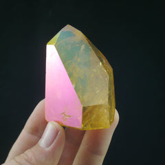 Sunset Aura Quartz - Enchanted Crystal