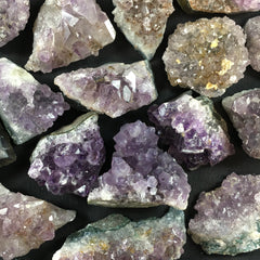 Amethyst Cluster - B an C Grade - Enchanted Crystal
