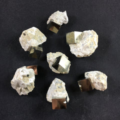 Pyrite Cube on Matrix - B and C Grade - Enchanted Crystal