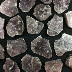 Lepidolite Mica - B an C Grade - Enchanted Crystal