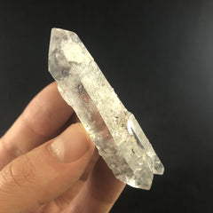 Grey Laser Quartz - Enchanted Crystal