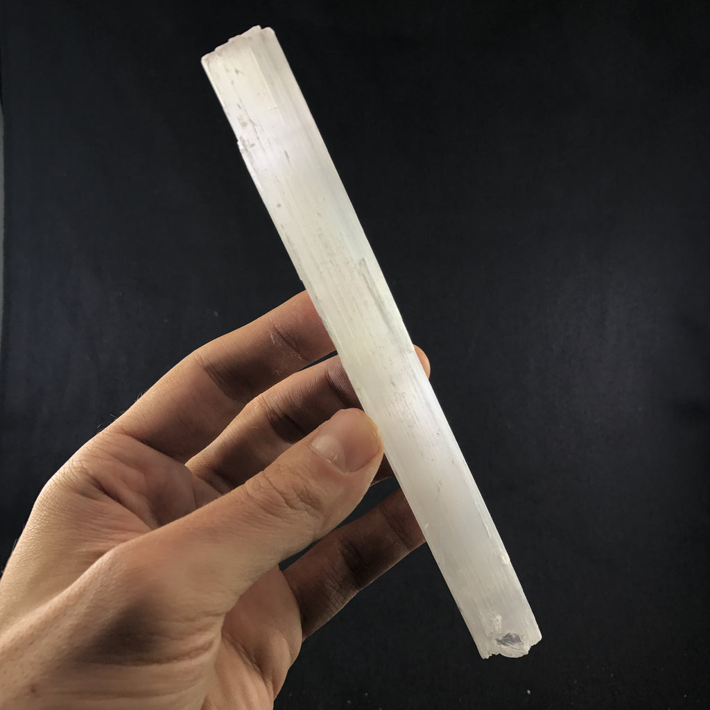 Selenite Wand (a-177)
