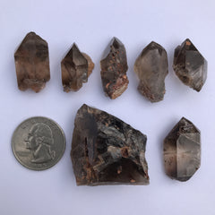 Smokey Epidote Quartz - Enchanted Crystal