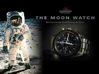 The First Wristwatch Worn on the Moon