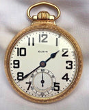 B.W. Raymond Elgin Invar Balance 21 Jewels Pocketwatch