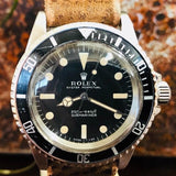 1967 Rolex Submariner 5513 Meters First Automatic 39mm Watch