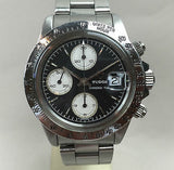Vintage Tudor Chronograph  Big Block  Floating Chrono - HallandLaddco.com