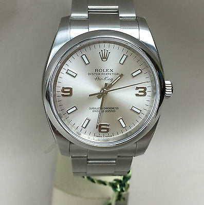Rolex Air-King Airking Ref.114200 - HallandLaddco.com